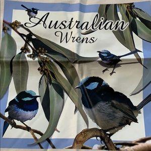 Cute Australia wrens shopping bag